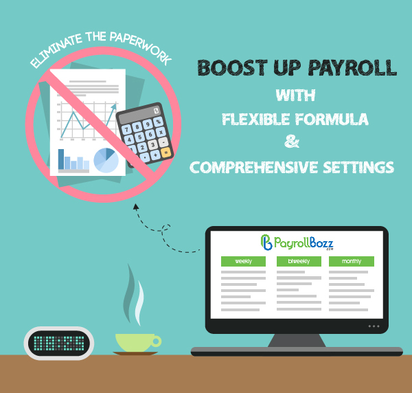 Boost up payroll